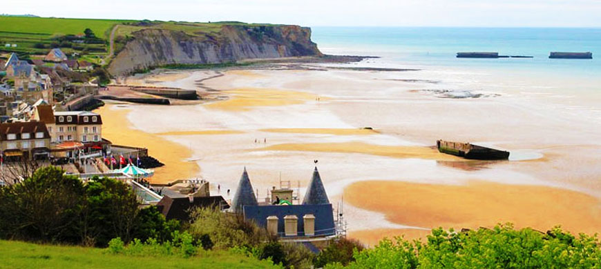 normandy d-day-beach